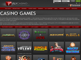 Fly Casino Games Page