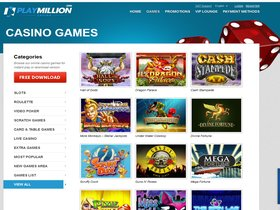 Play Million Casino Games Page